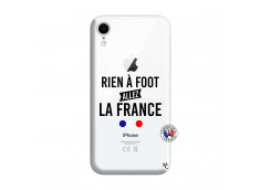 Coque iPhone XR Rien A Foot Allez La France