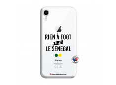 Coque iPhone XR Rien A Foot Allez Le Senegal