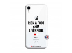 Coque iPhone XR Rien A Foot Allez Liverpool