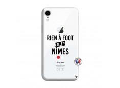 Coque iPhone XR Rien A Foot Allez Nimes