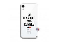 Coque iPhone XR Rien A Foot Allez Rennes