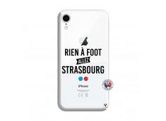 Coque iPhone XR Rien A Foot Allez Strasbourg