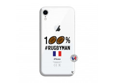 Coque iPhone XR 100% Rugbyman