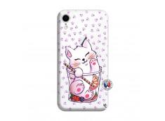 Coque iPhone XR Smoothie Cat