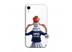 Coque iPhone XR Super Maman Et Super Bébé