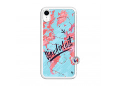 Coque iPhone XR Wanderlust Translu