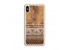 Coque iPhone XS MAX Aztec Deco Translu