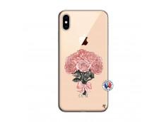 Coque iPhone XS MAX Bouquet de Roses