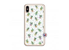 Coque iPhone XS MAX Le Monde Entier est un Cactus Translu