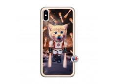 Coque iPhone XS MAX Cat Nasa Translu