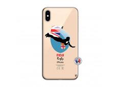 Coque iPhone XS MAX Coupe du Monde Rugby Fidji