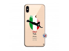 Coque iPhone XS MAX Coupe du Monde Rugby-Italy