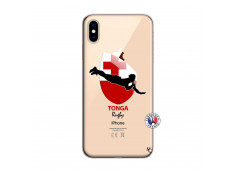 Coque iPhone XS MAX Coupe du Monde Rugby-Tonga