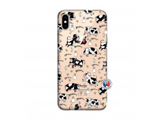 Coque iPhone XS MAX Cow Pattern