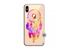 Coque iPhone XS MAX Dreamcatcher Rainbow Feathers