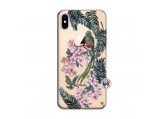 Coque iPhone XS MAX Flower Birds