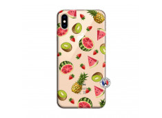 Coque iPhone XS MAX Multifruits