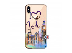 Coque iPhone XS MAX I Love London