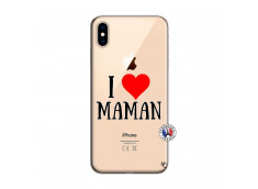 Coque iPhone XS MAX I Love Maman