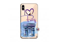 Coque iPhone XS MAX I Love Paris Arc Triomphe