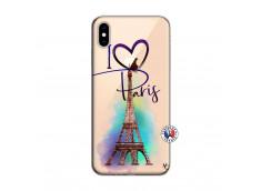 Coque iPhone XS MAX I Love Paris