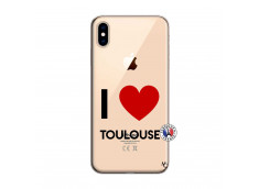 Coque iPhone XS MAX I Love Toulouse