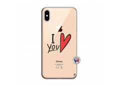 Coque iPhone XS MAX I Love You