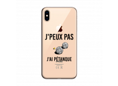 Coque iPhone XS MAX J Ai Petanque