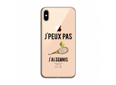 Coque iPhone XS MAX J Ai Tennis
