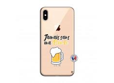 Coque iPhone XS MAX Jamais Sans Ma Blonde