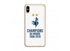 Coque iPhone XS Max Champions du monde