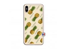 Coque iPhone XS MAX Sorbet Ananas Translu