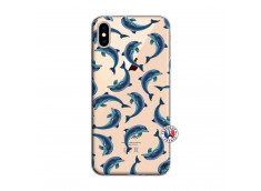 Coque iPhone XS MAX Dolphins