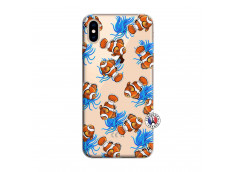 Coque iPhone XS MAX Poisson Clown