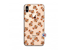 Coque iPhone XS MAX Petits Poissons Clown