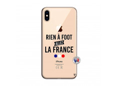 Coque iPhone XS MAX Rien A Foot Allez La France