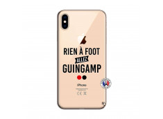 Coque iPhone XS MAX Rien A Foot Allez Guingamp
