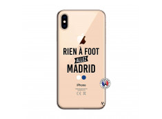 Coque iPhone XS MAX Rien A Foot Allez Madrid