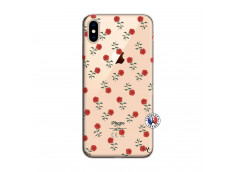 Coque iPhone XS MAX Rose Pattern