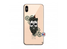 Coque iPhone XS MAX Skull Hipster