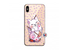 Coque iPhone XS MAX Smoothie Cat
