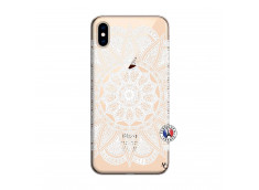 Coque iPhone XS MAX White Mandala