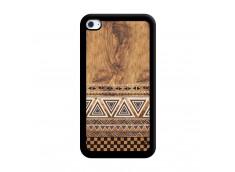 Coque iPod Touch 4 Aztec Deco Noir