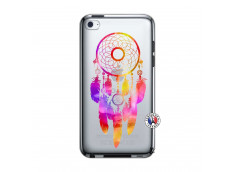 Coque iPod Touch 4 Dreamcatcher Rainbow Feathers