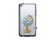 Coque iPod Touch 4 Globe Trotter