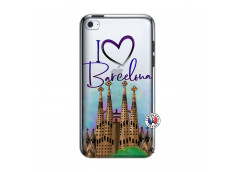 Coque iPod Touch 4 I Love Barcelona