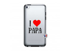 Coque iPod Touch 4 I Love Papa