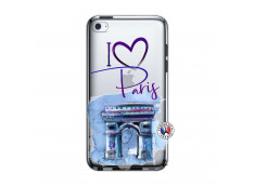 Coque iPod Touch 4 I Love Paris Arc Triomphe