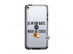 Coque iPod Touch 4 Je m'en bats Les Noix De Coco