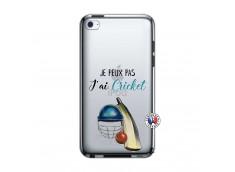 Coque iPod Touch 4 Je peux pas j'ai cricket